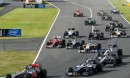 In Giappone podio Ferrari