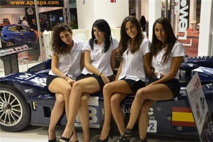 Le ragazze del Motor Show