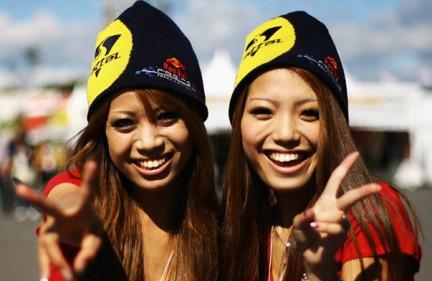 Le ragazze di Suzuka 2010