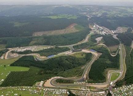 Circuito Spa : F1: lo storico circuito di spa francorchamps