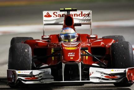 Trionfo Ferrari a Singapore