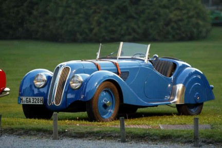 La Bmw 328 Sport del 1937