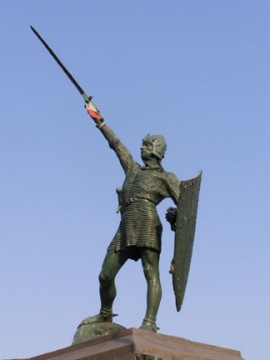 Alberto da Giussano - Statua a Legnano