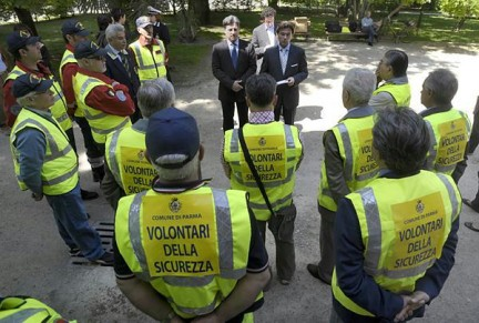 Volontari per la sicurezza