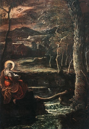 Maria Egiziaca - Tintoretto
