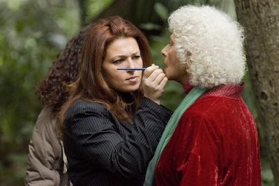 Sul set dello spot realizzato da Angelo Serio che vede protagonista l'attrice napoletana Isa Danieli
