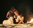 Vincent fa il terzo incomodo durante una serata romantica tra Shannon e Sayid