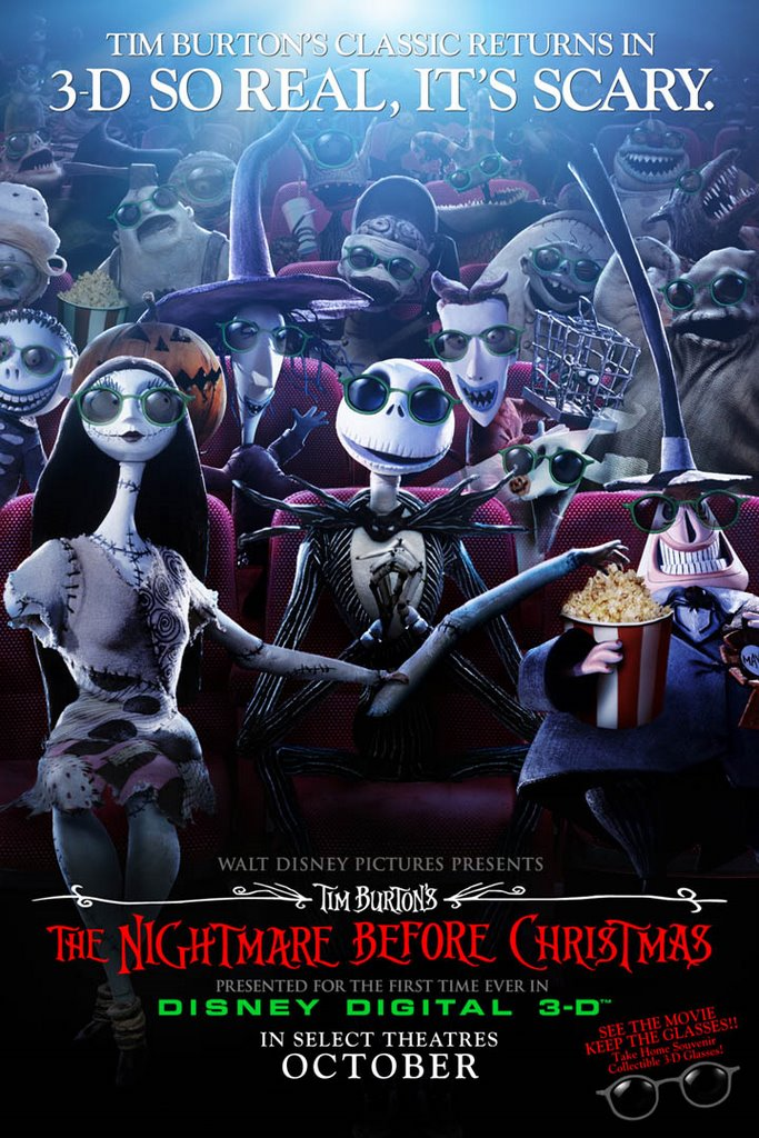 Marilyn Manson canta in Nightmare Before Christmas 3D
