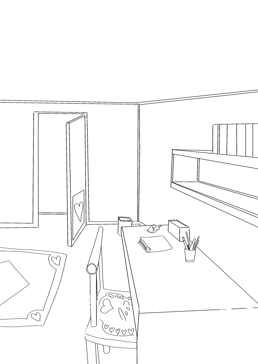 Il meglio di disegni da colorare mia casa for Disegni popolari della casa