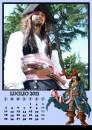 Arriva il calendario cosplay