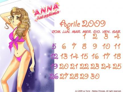 Calendario manga  Sexy aprile