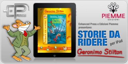 Geronimo Stilton sbarca su iPad