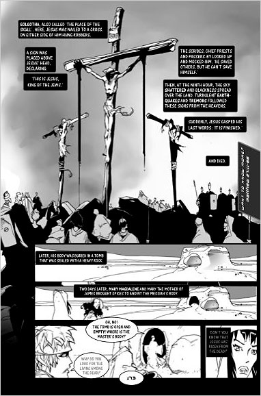 Gesù stile manga