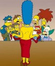 Marge Simpson su  Playboy
