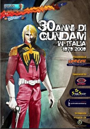 Mobile Suite Gundam - 30 Anni in Italia