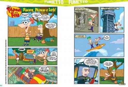 Phineas e Ferb arriva il magazine