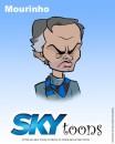 i cartoon di sky sul calcio