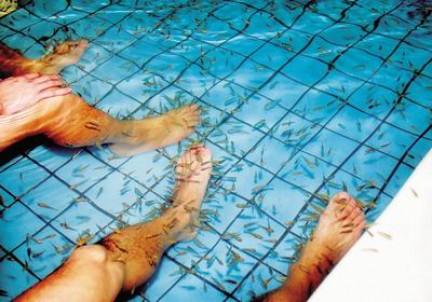 Le sale da bagno pubbliche in Cina 浴� sono molto diffuse