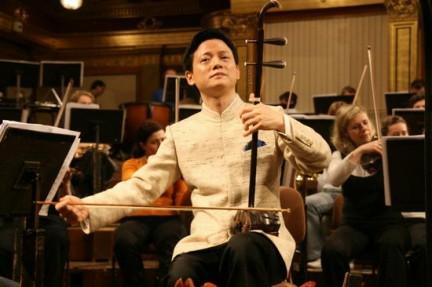 L'Erhu strumento tradizionale cinese, detto anche violino cinese