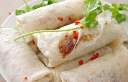 Involtini primavera antipasto della cucina cinese