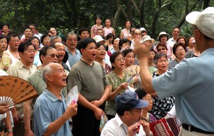 Quella dei music corner è un'attività molto amata dai cinesi