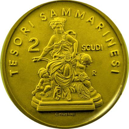 Il dittico d'oro 2009 della Repubblica di San Marino