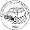 La moneta dell'anniversario della mini