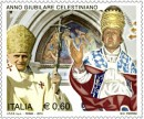 francobolli ed annulli postali dell'anno giubilare celestiano