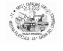Marcofilia gli annulli di inizio settembre 2009