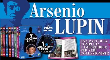 arsenio lupin dvd edicola