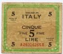 Le banconote in lire del mercatino