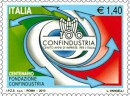 gli stemmi e il francobollo di confindustria