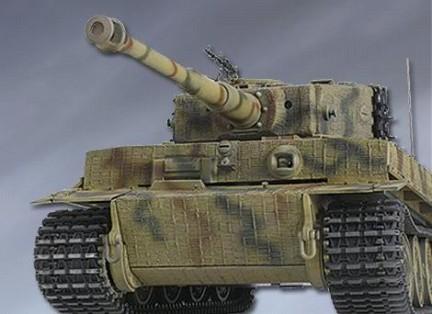 Il modellino del Panzer Tiger da collezionare