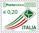 I francobolli in euro della serie poste italiane