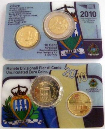 euro san marino 2010