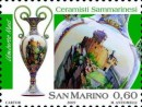 Francobolli ceramisti Repubblica San Marino