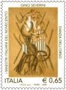 Il francobollo del pittore cubista realizzato da poste italiane