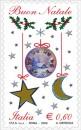 La versione laica del francobollo natalizio delle poste italiane