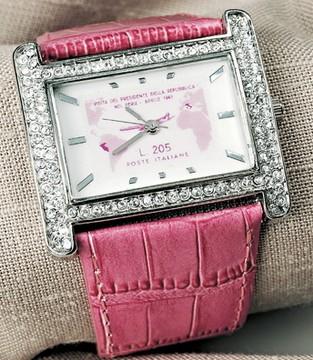 orologio gronchi rosa