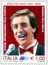 Il francobollo della giornata della musica dedicato a mino reitano