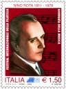Giornata della musica: il francobollo di Nino Rota
