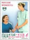 Un francobollo per una professione e per la lotta al cancro al seno