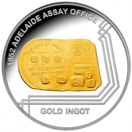 Lingotto d'oro nelle monete della Royal Mint