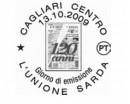Gli annulli postali del bollettino del 17 settembre delle poste italiane