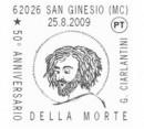 Gli annulli filatelici del 2 settembre 2009 Poste italiane