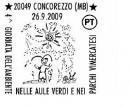 Tutti gli annulli del bollettino delle Poste italiane del 24 settembre 2009