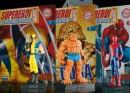 I modellini della fabbri editore in edicola... i supereroi!