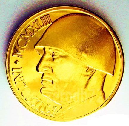 moneta oro duce