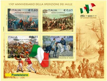 150 anni della spedizione dei mille di Garibaldi
