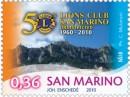 I francobolli del cinquantenario del Lions Club